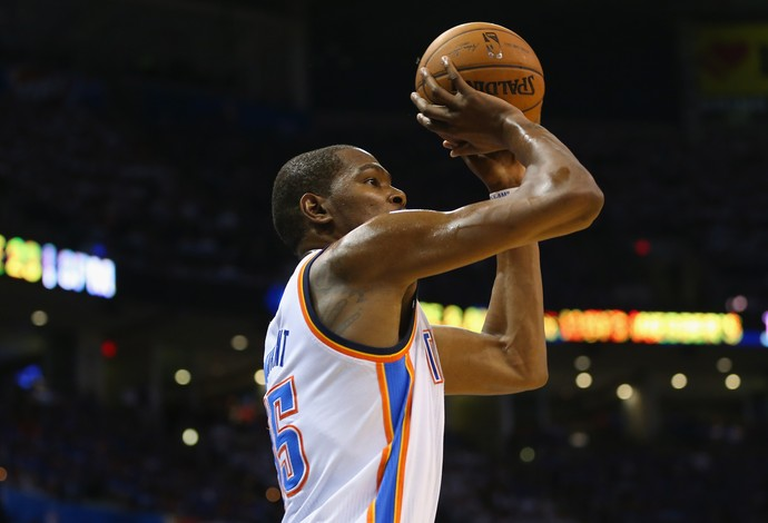 Kevin Durant Oklahoma Los Angeles Clippers (Foto: Getty Images)