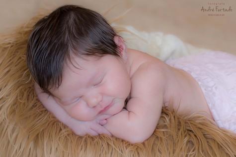 A recém-nascida Mia (Foto: André Furtado)
