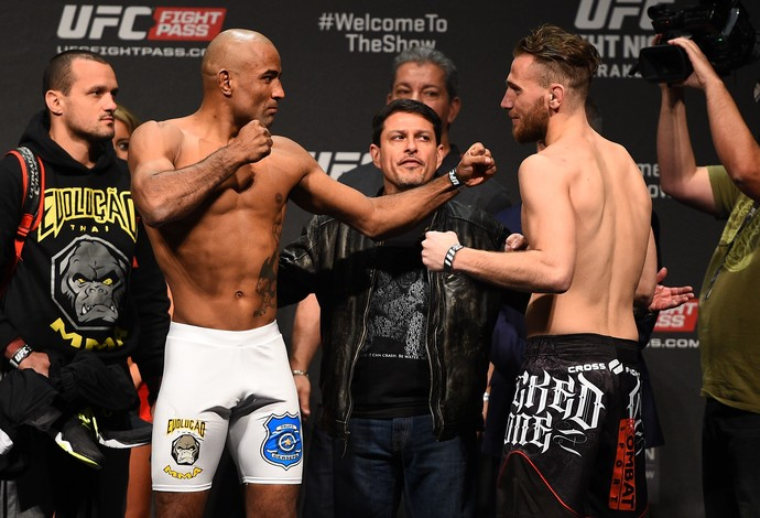Sergio Moraes Mickael Lebout UFC Polônia (Foto: Getty Images)