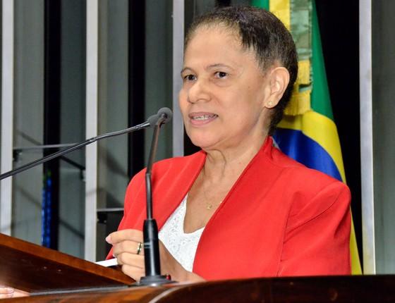 A senadora Regina Sousa (PT-PI) (Foto: Agência Senado)