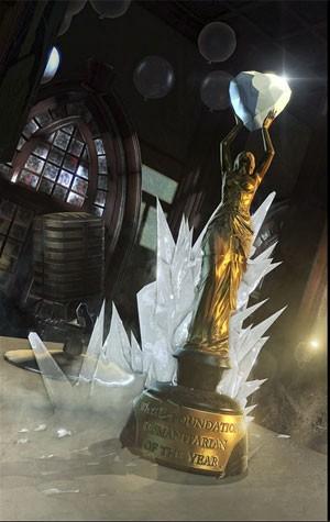 Imagem sugere que Sr. Frio é o vilão do próximo pacote de expansão de 'Batman: Arkham Origins' (Foto: Divulgação/Warner Bros.)