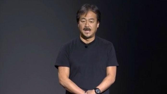Hirinobu Sakaguchi, criador da saga, estava presente (Foto: Divulgação/Square Enix)