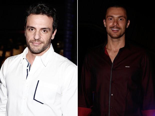 Rodrigo Lombardi (Alex) e Adriano Toloza (Igor) (Foto: Inácio Moraes/ Gshow)