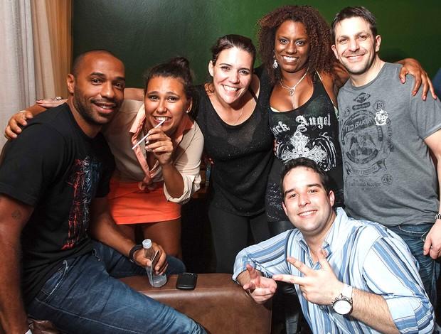 thierry henry no show do trio ternura (Foto: Marcos Samerson / Agência We Love Photo!)