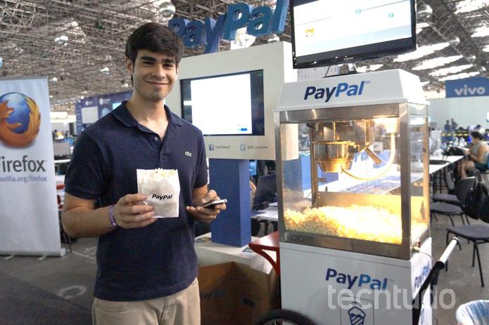 PayPal (Foto: Melissa Cruz/TechTudo)