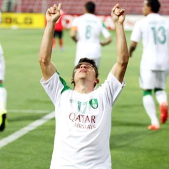 Osvaldo, Al Ahli x Al Ahli (Foto: Reprodução / Twitter)