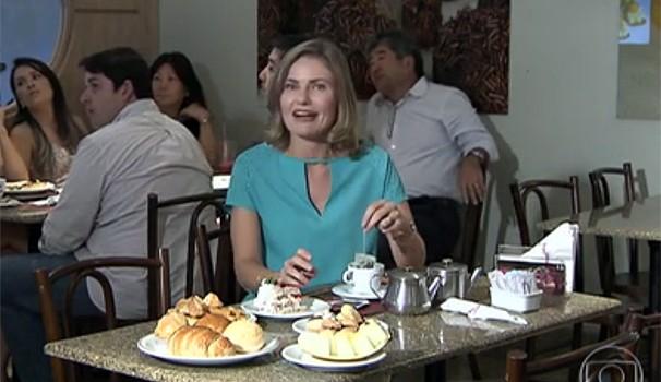 Bem Estar Curitiba Chá (Foto: Reprodução/RPC TV)
