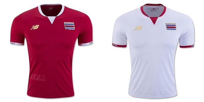 Camisa Costa Rica Copa América Centenario