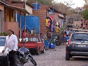 Mortes aconteceram no bairro de Felipe Camarão (Foto: Reprodução/Inter TV Cabugi)