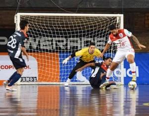 Sorocaba Joinville semifinal Libertadores de Futsal (Foto: Divulgação)