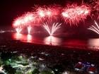 Turistas e moradores se reúnem para celebrar a chegada de 2017 na região