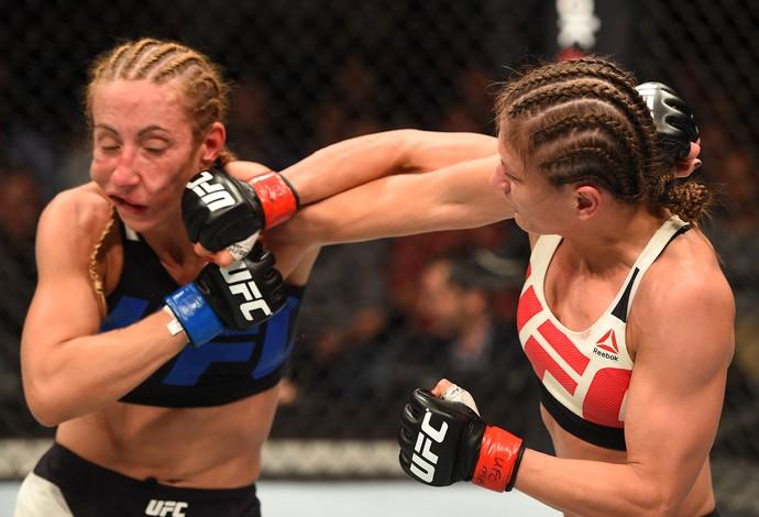Karolina Kowalkiewicz Heather Jo Clark UFC Holanda (Foto: Getty Images)