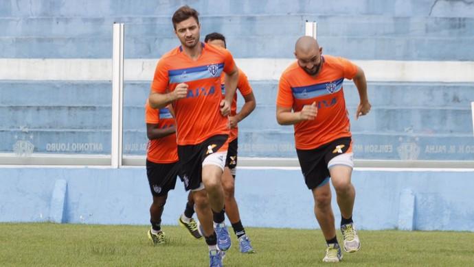 Fernando Lombardi e Marcão treino Paysandu (Foto: Fernando Torres/Ascom Paysandu)