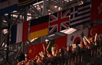 Encantada com torcida russa, equipe do nado quer apoio ainda maior no Rio