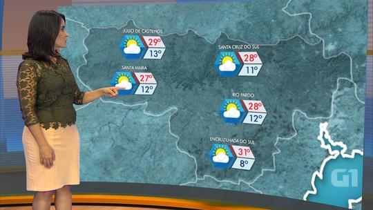Quarta-feira deve ter tempo firme e calor no Rio Grande do Sul