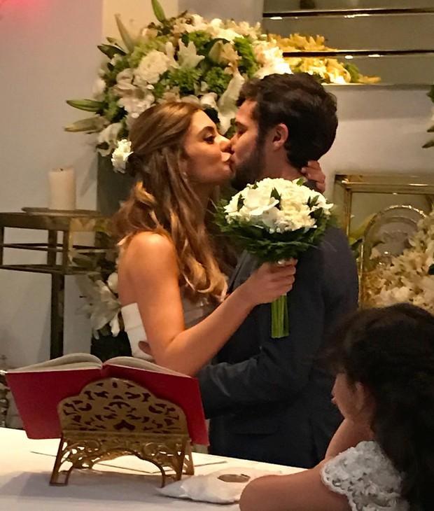 Luiza Tellechea e Jayme Matarazzo (Foto: Reprodução/Instagram)