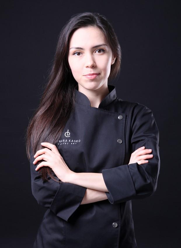 A confeiteira ucraniana Dinara Kasko (Foto: Divulgação)