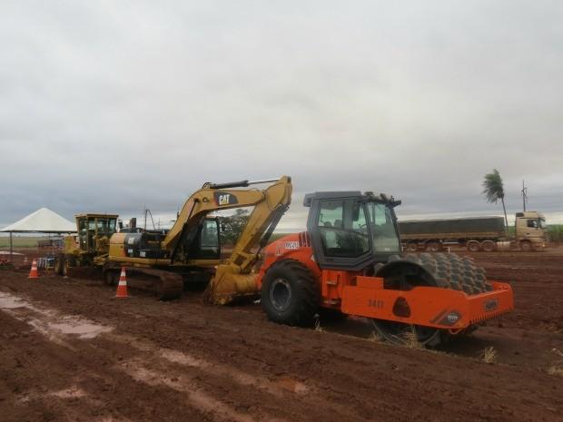 Obras de duplicação da BR-163 são iniciadas em Mato Grosso do Sul (Foto: Luciana Modesto/Sato Comunicação)