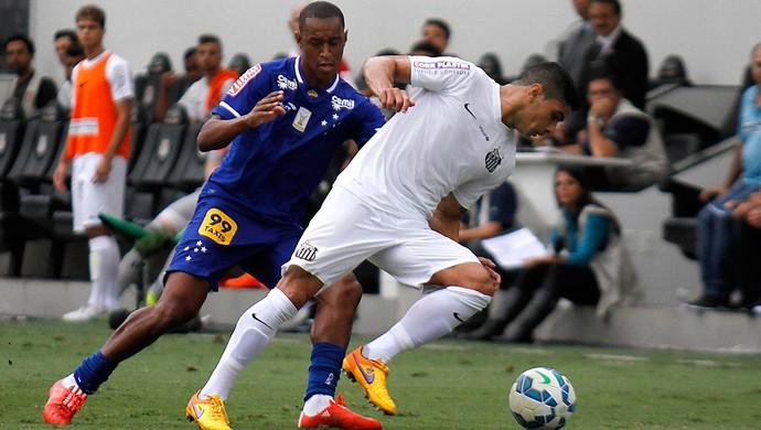 Renato, Santos x Cruzeiro (Foto: Lucas Baptista / Futura Press)