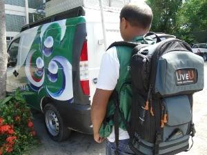LiveU facilitará transmissões ao vivo (Foto: TV Amazonas)