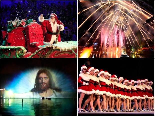 Espetáculos do Natal Luz tem ingressos esgotados (Foto: Montagem sobre fotos/Cleiton Thiele/Divulgação)