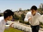 Judeus ultraortodoxos levam capoeira para Jerusalém