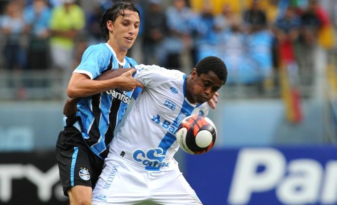 Geromel Grêmio x Novo Hamburgo (Foto: Wesley Santos/Agência PressDigital)
