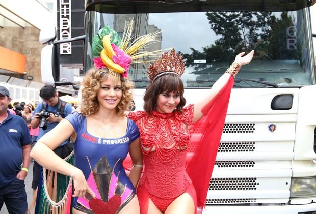 Leandra Leal e Alessandra Negrini  (Foto: Deividi Correa/AgNews)