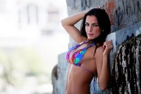 Carla Prata posa para EGO (Foto: Isac Luz / EGO)