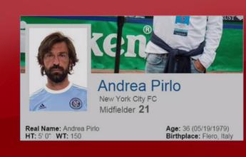 New York City publica foto de Pirlo com camisa do clube e retira do ar
