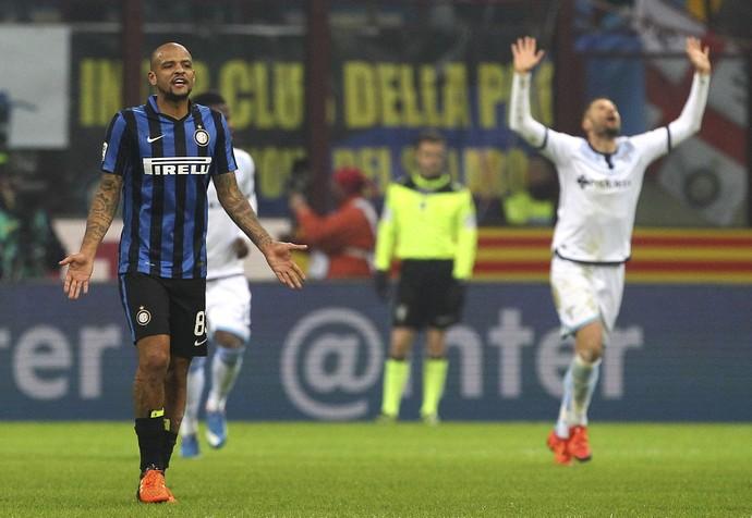 Felipe Melo Inter de MIlão x Lazio (Foto: Getty Images)