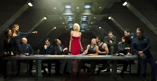 Battlestar Galactica (Foto: Divulgao)