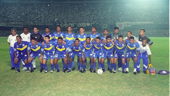 ee601efb57992 Juazeiro Empreendimentos final Campeonato Cearense 1999 (Foto: Agência  Diário)