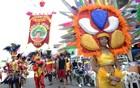 Caboclinhos mantêm tradição no carnaval (Luka Santos/G1)