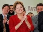 'Estou tranquila em relação à inflação', diz Dilma