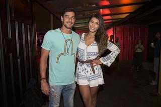 Ex-BBBs Diego Gossi e Franciele Almeida em festa no Rio (Foto: Felipe Panfili/ Divulgação)