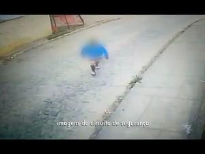 Câmeras de segurança mostram movimentação de suspeito de matar jovem em Campina Grande (Foto: Reprodução / TV Paraíba)