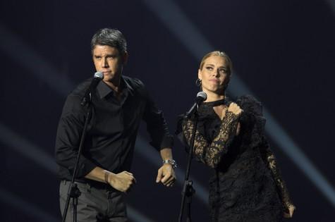 Márcio Garcia e Carolina Dieckmann (Foto: João Franco)