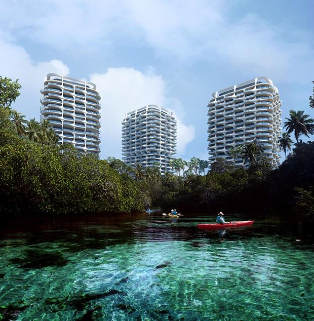 Zaha Hadid Architects enaltece a cultura do México em projeto residencial (Foto: Zaha Hadid Architects/Reprodução)