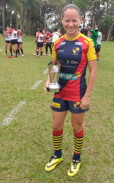 Cilene Delta Rugby super sevens 2016 (Foto: Arquivo Pessoal)