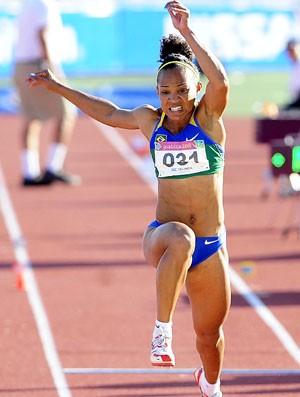 Keila Costa conquista índice olímpico no Ibirapuera (Foto: Fernanda Paradizo / Divulgação)