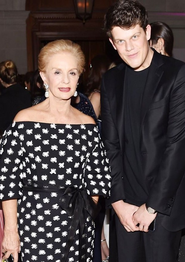 Carolina Herrera e Wes Gordon (Foto: Getty Images)