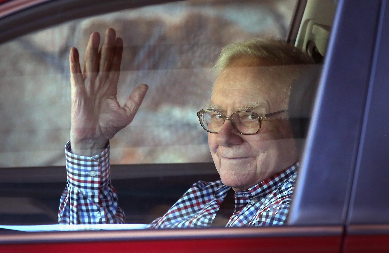 Warren Buffett, um homem simples (mas bilionário (Foto: Getty Images/Scott Olson)