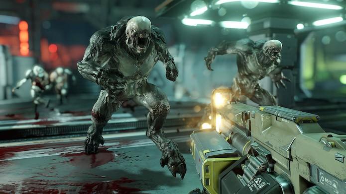 Doom: level design do título merece ser destacado (Foto: Divulgação/Bethesda)