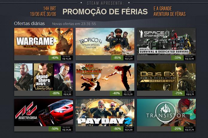 Steam Summer Sale: GTA IV e Payday 2 nas ofertas de hoje