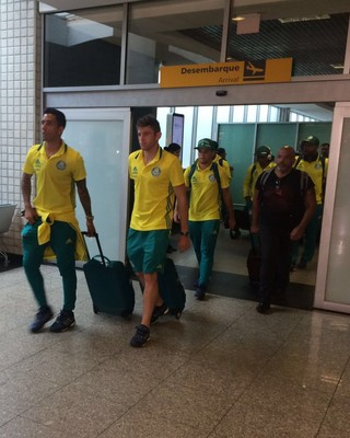 Palmeiras desembarque (Foto: Felipe Zito)