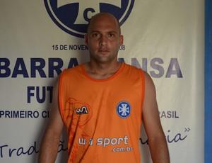 Goleiro Márcio é uma das apostas do clube para o Estadual (Foto: Renato Silva/BMFC)