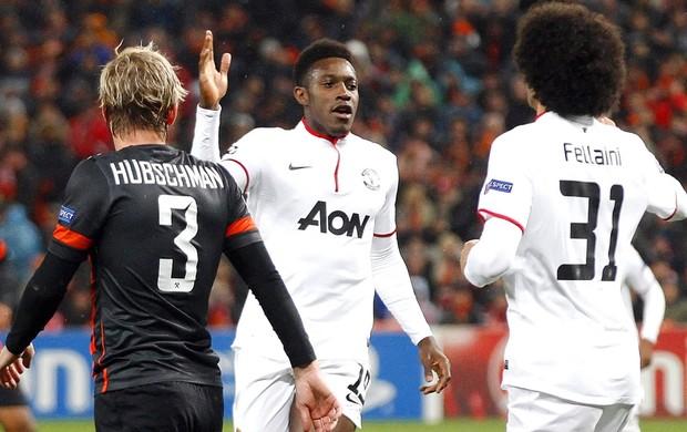 Danny Welbeck Manchester United e Shakhtar (Foto: Agência EFE)