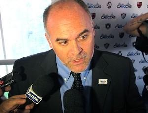 Maurício Assumpção presidente do Botafogo (Foto: André Casado / Globoesporte.com)