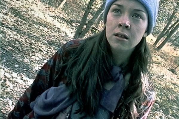 Heather Donahue em A Bruxa de Blair (1999) (Foto: Reprodução)